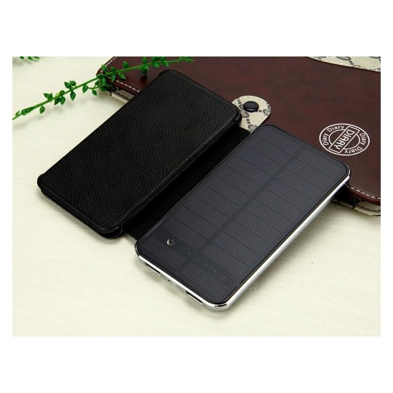 Внешний аккумулятор RIPA 10000 мАч  с солнечной панелью 6Вт, 2x USB для зарядки смартфонов и планшетов 183556
