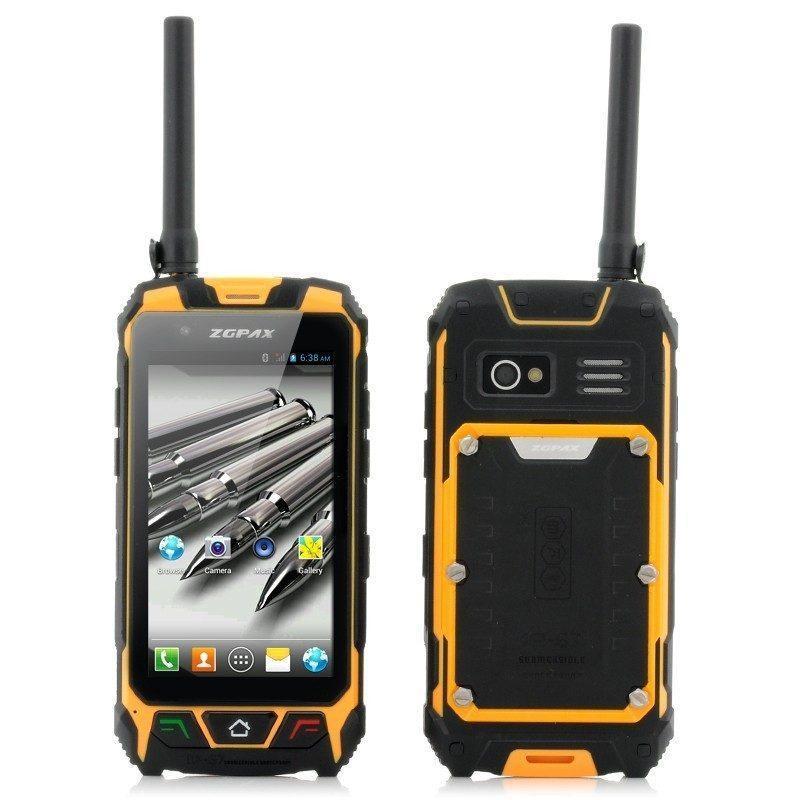 Защищенный смартфон ZGPAX S9 – IP67, 2 SIM, GPS, рация, Android 4.2, 2-ядерный процессор, камеры 5МП + 2МП, Wi-Fi