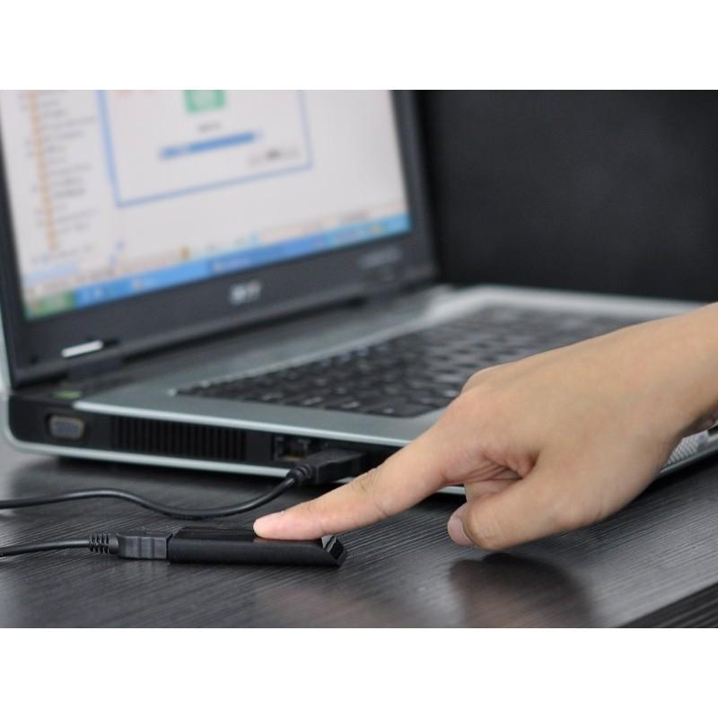 Биометрический считыватель отпечатков пальцев USB 2.0 для блокировки несанкционированного доступа к ПК 186462