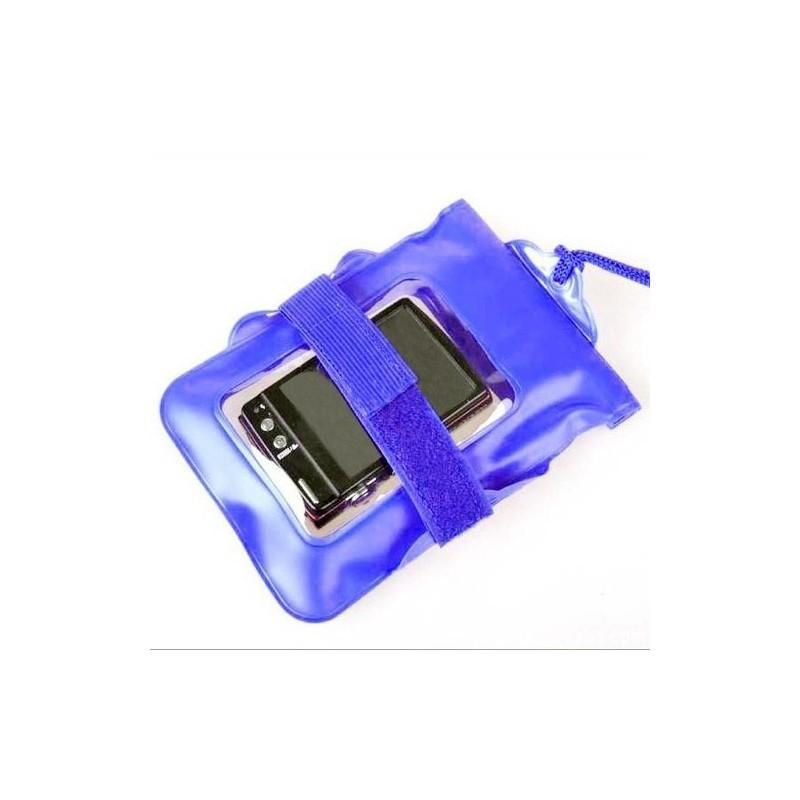 Водонепроницаемый чехол Bingo для цифровой камеры (до 125 x 115 мм, с объективом длиной до 26 мм и диаметром до 55 мм, синий) 186502