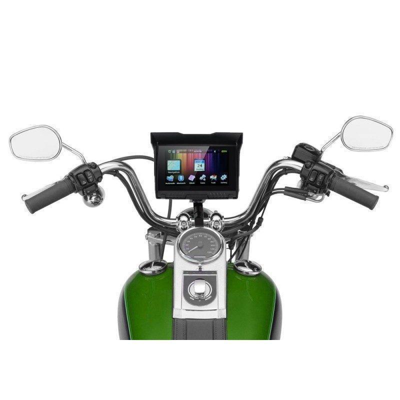 5-дюймовый GPS-навигатор для мотоцикла с широкоформатным экраном – водонепроницаемость IPX5, Bluetooth, 8 Гб