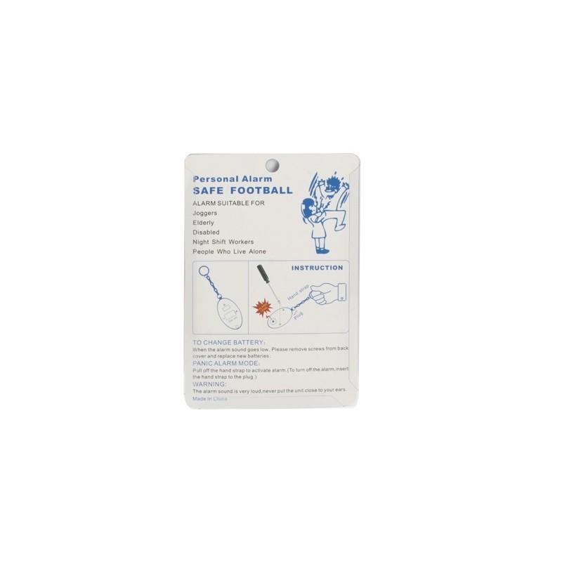 Личная сигнализация-брелок с цепочкой 186541