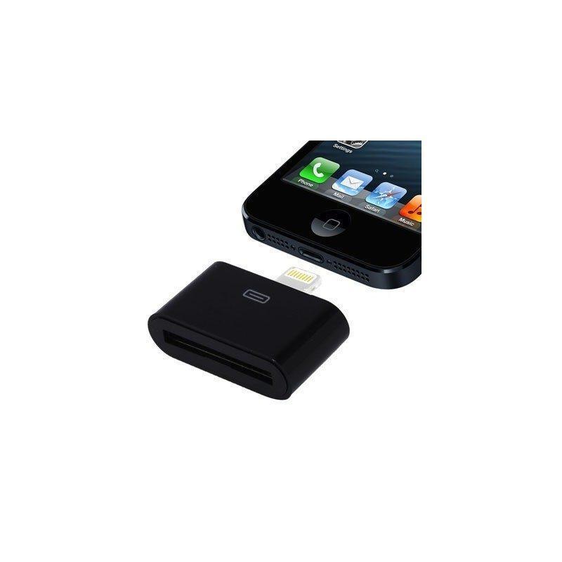 Переходник (гнездо 30-pin и разъем 8-pin) для iPhone 6 и 6 Plus, iPhone 5, 5S и 5C, iPad Mini и Mini 2 Retina, iPod Touch 5