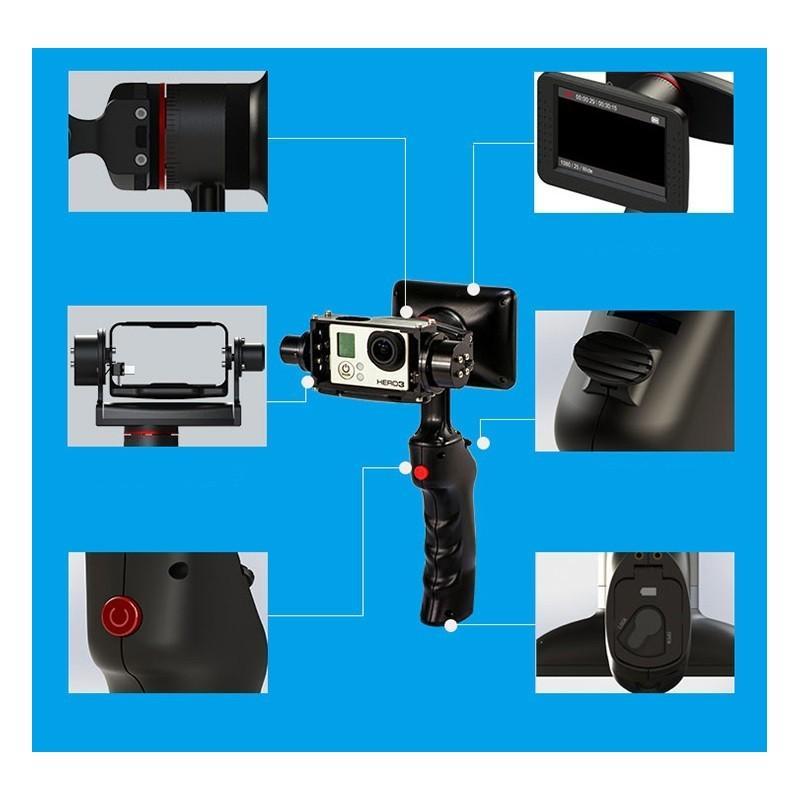 Стабилизатор-стедикам Wenpod GP1 с экраном 3,5 дюйма для камеры GoPro Hero 3, 3+, 4 183575