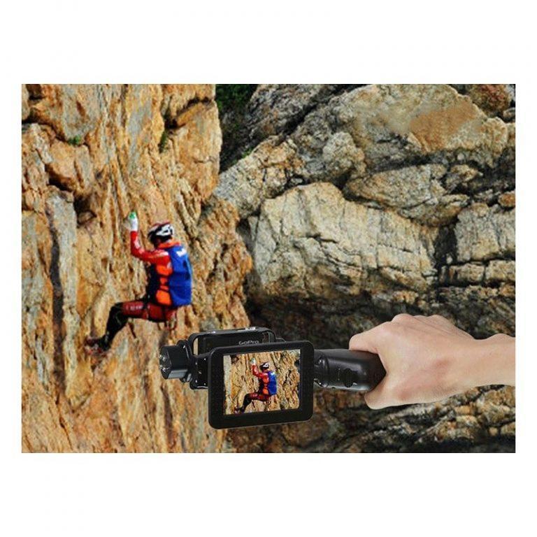 438 - Стабилизатор-стедикам Wenpod GP1 с экраном 3,5 дюйма для камеры GoPro Hero 3, 3+, 4