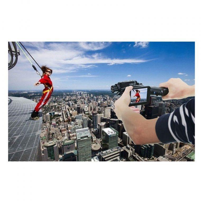 439 - Стабилизатор-стедикам Wenpod GP1 с экраном 3,5 дюйма для камеры GoPro Hero 3, 3+, 4