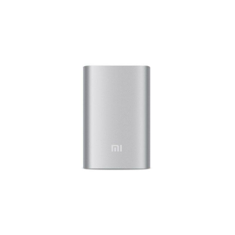 Внешний аккумулятор на 10400mAh 2.1 Ампера с USB-портом Xiaomi Mi + алюминиевый корпус (оригинал)
