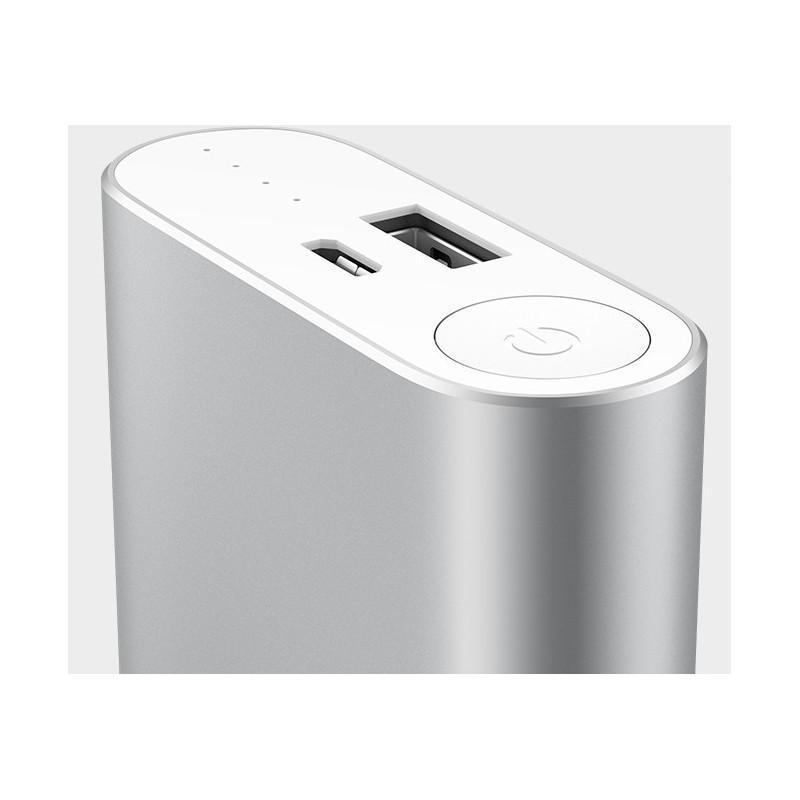 Внешний аккумулятор на 10400mAh 2.1 Ампера с USB-портом Xiaomi Mi + алюминиевый корпус (оригинал) 186616