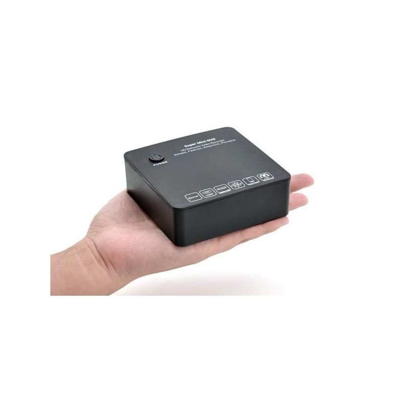 8-канальный компактный сетевой видеорегистратор Boxy I380 – 1080p, порт eSATA, протокол ONVIF, облако P2P 186625