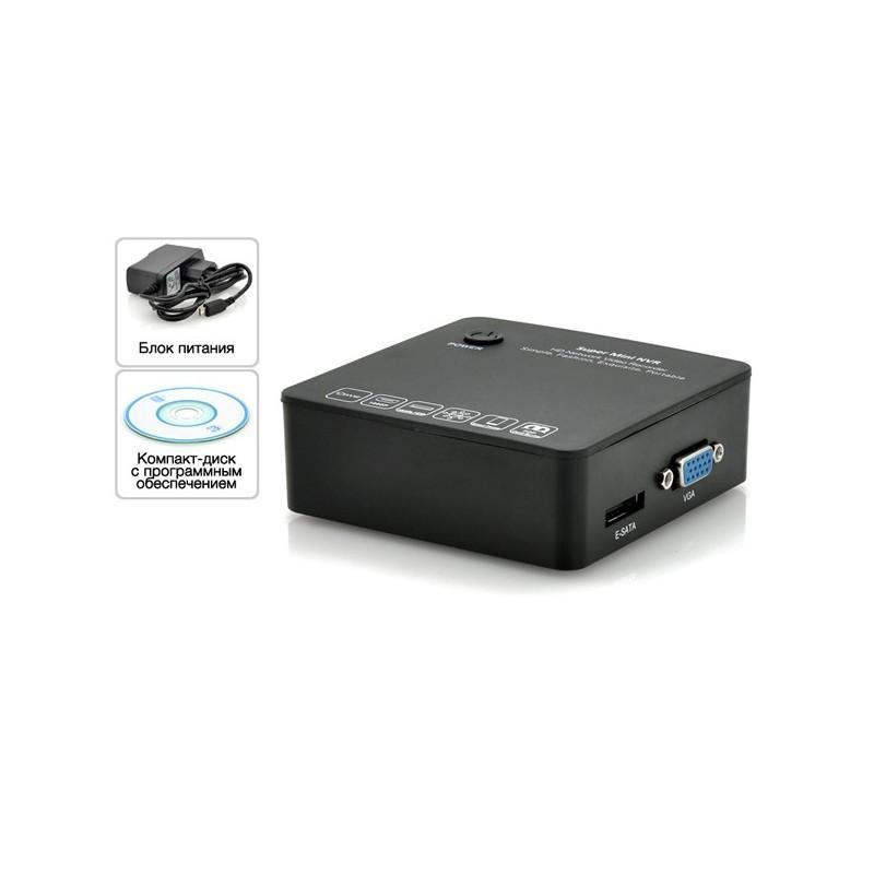 8-канальный компактный сетевой видеорегистратор Boxy I380 – 1080p, порт eSATA, протокол ONVIF, облако P2P 186628