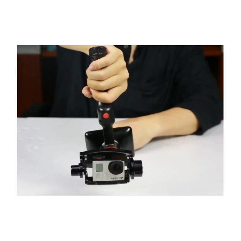 443 - Стабилизатор-стедикам Wenpod GP1 с экраном 3,5 дюйма для камеры GoPro Hero 3, 3+, 4