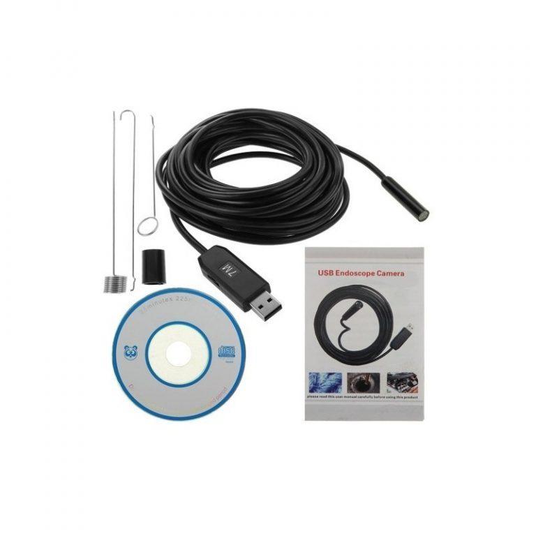 4781 - Профессиональный водонепроницаемый ручной USB бороскоп - технический эндоскоп от 2 до 25 метров