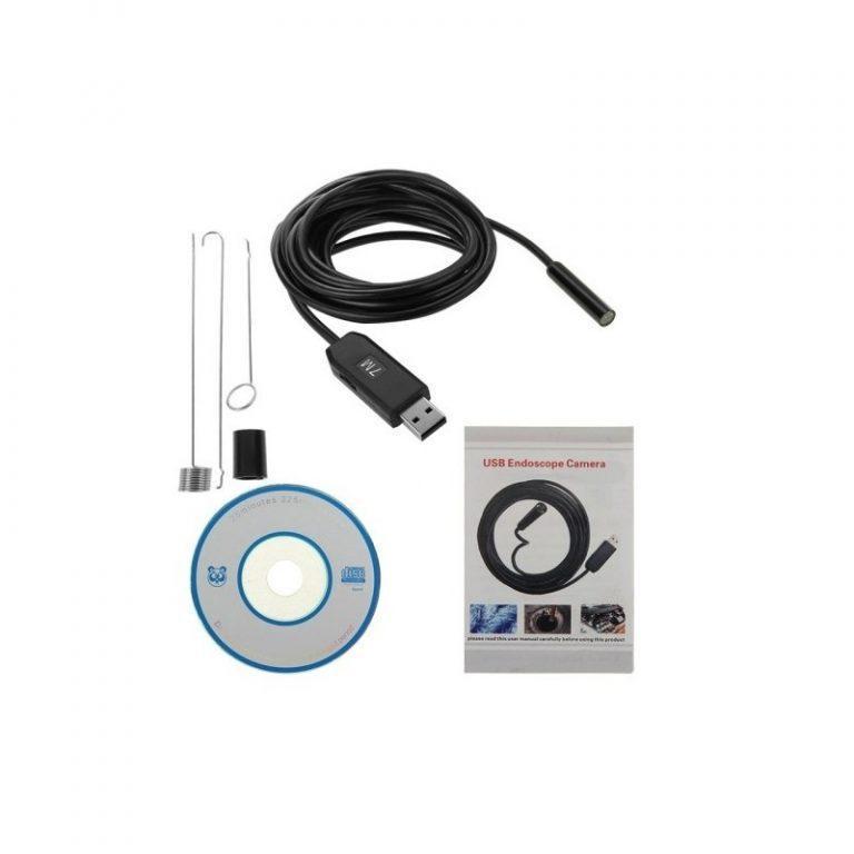 4786 - Профессиональный водонепроницаемый ручной USB бороскоп - технический эндоскоп от 2 до 25 метров