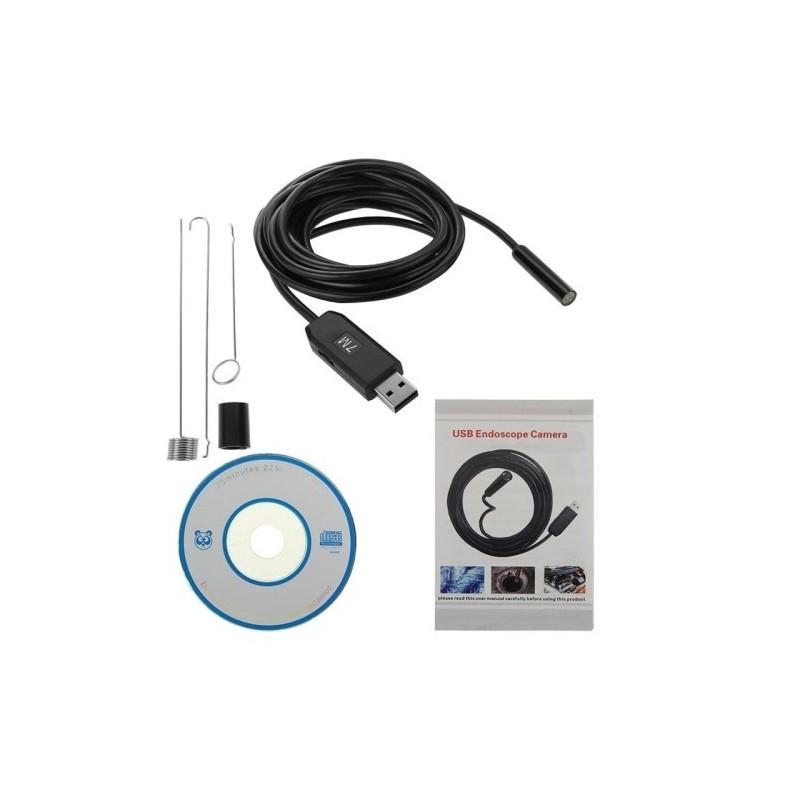 Профессиональный водонепроницаемый ручной USB бороскоп – технический эндоскоп от 2 до 25 метров 186959