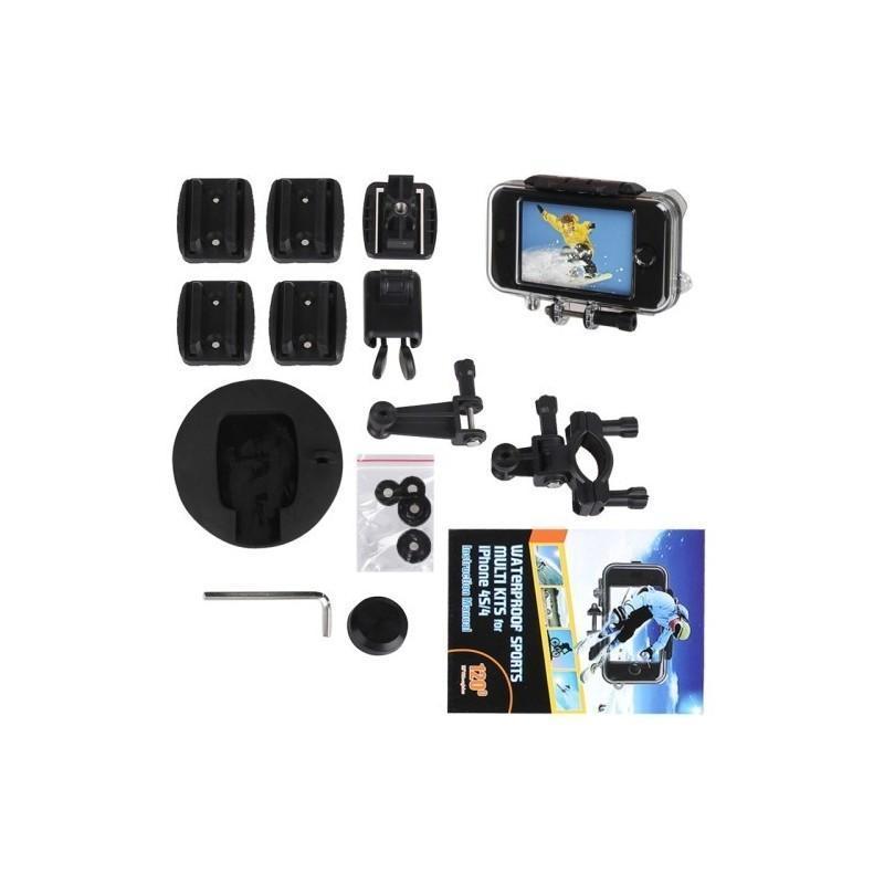 Комплект защитных и монтажных аксессуаров для iPhone 5 и 5S (для велосипеда, шлема) 186970