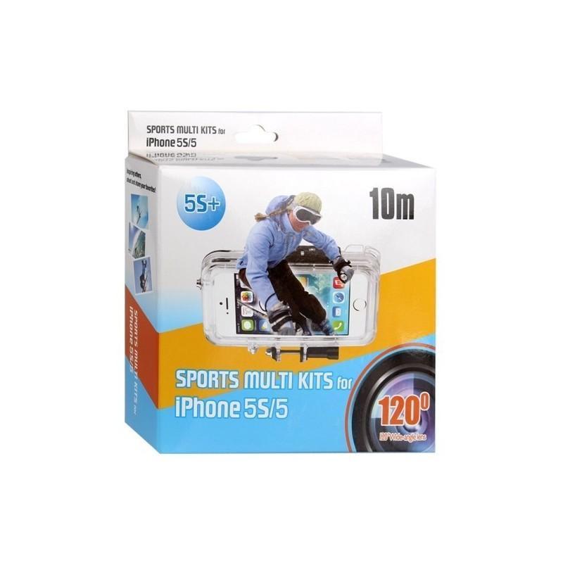 Комплект защитных и монтажных аксессуаров для iPhone 5 и 5S (для велосипеда, шлема) 186971