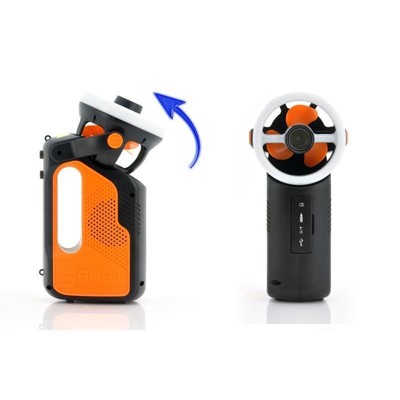 Многофункциональный походный светодиодный фонарь LT169 с FM-радио, вентилятором, MP3 плеером, подзарядкой для мобильного 186977