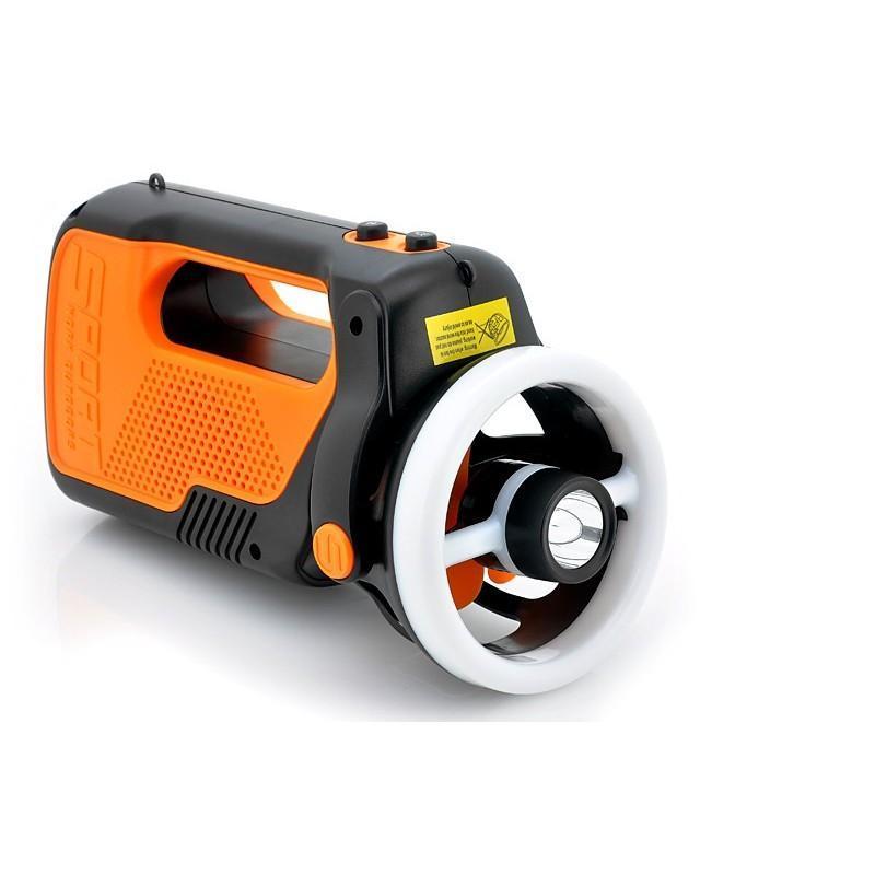Многофункциональный походный светодиодный фонарь LT169 с FM-радио, вентилятором, MP3 плеером, подзарядкой для мобильного 186980
