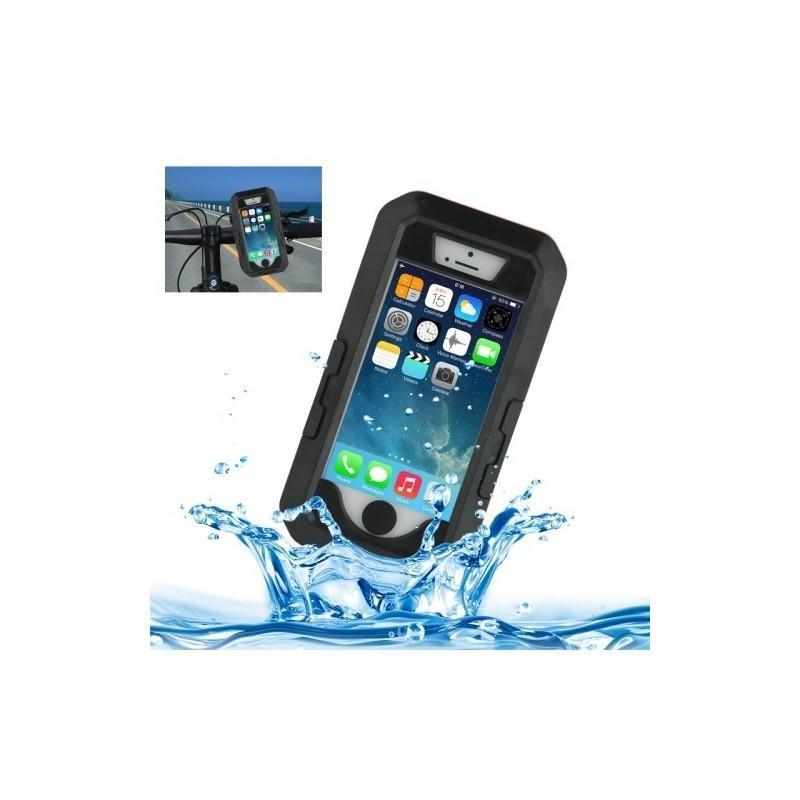 Велосипедный водонепроницаемый чехол для iPhone 5 и 5s с вращающимся креплением (на 360 градусов)