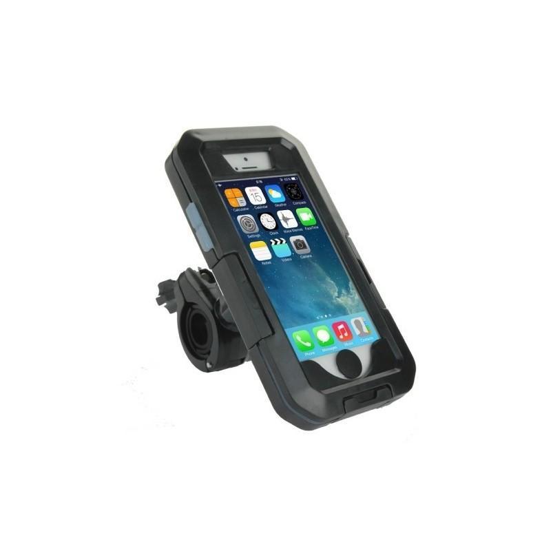 Велосипедный водонепроницаемый чехол для iPhone 5 и 5s с вращающимся креплением (на 360 градусов) 187093