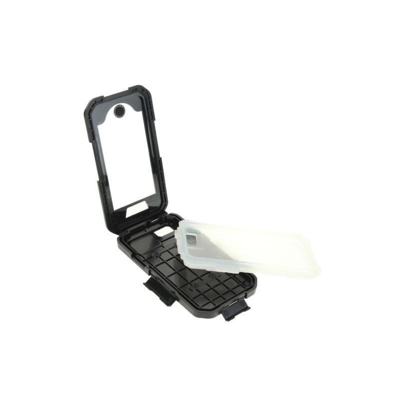 Велосипедный водонепроницаемый чехол для iPhone 5 и 5s с вращающимся креплением (на 360 градусов) 187096