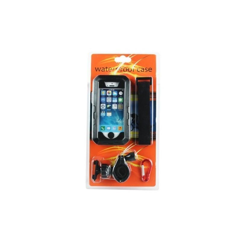 Велосипедный водонепроницаемый чехол для iPhone 5 и 5s с вращающимся креплением (на 360 градусов) 187099