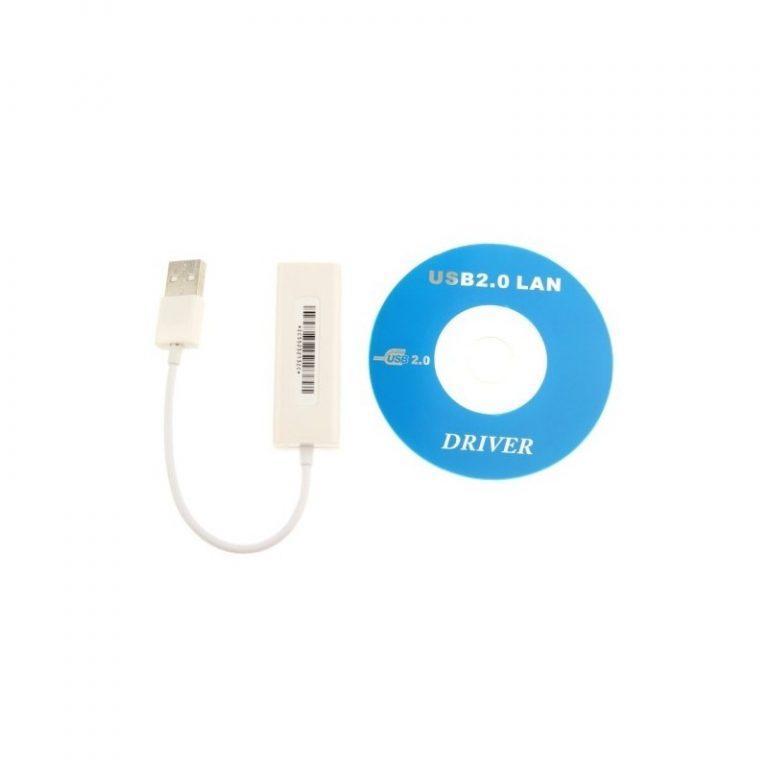 494 - Адаптер от USB к LAN – USB 2.0, RJ45, 100/1000 Base-T