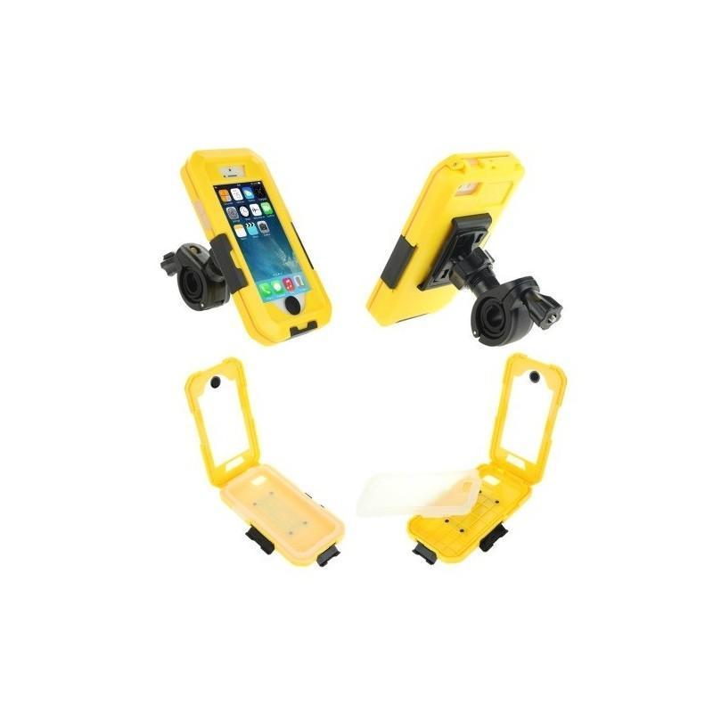 Велосипедный водонепроницаемый чехол для iPhone 5 и 5s с вращающимся креплением (на 360 градусов) 187100