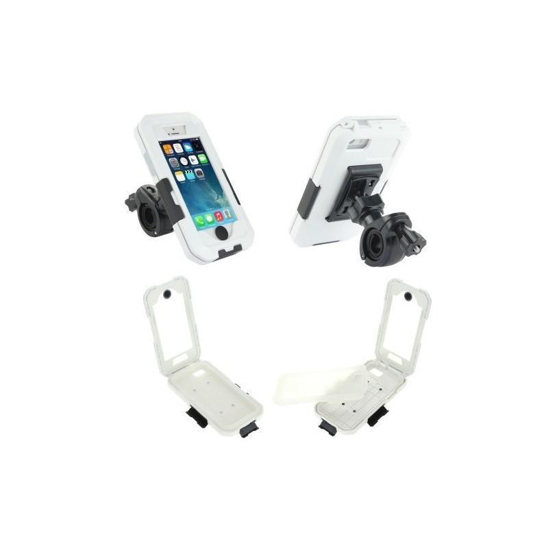 Велосипедный водонепроницаемый чехол для iPhone 5 и 5s с вращающимся креплением (на 360 градусов) 187102