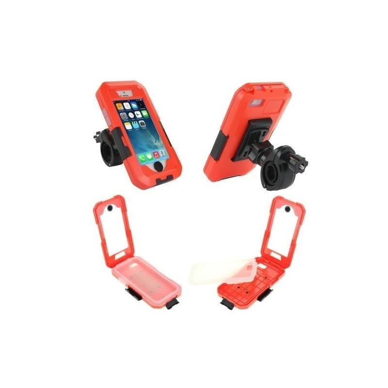 Велосипедный водонепроницаемый чехол для iPhone 5 и 5s с вращающимся креплением (на 360 градусов) 187104