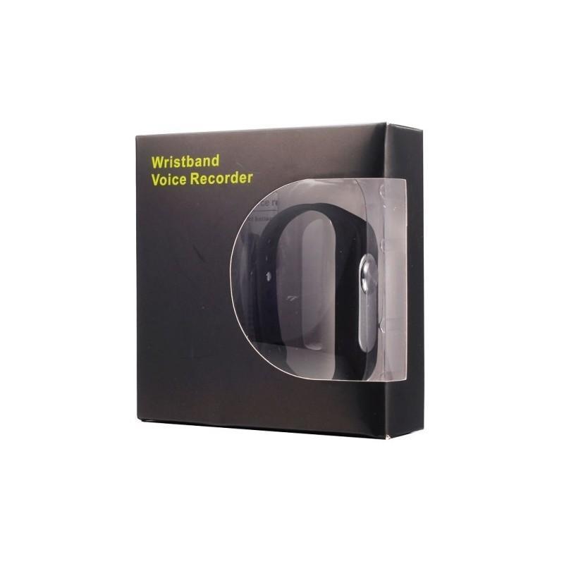 Цифровой диктофон браслет WR-06 (8GB, 140 часов записи, 128Kbps, 21 г, 6 цветов на выбор) 187193