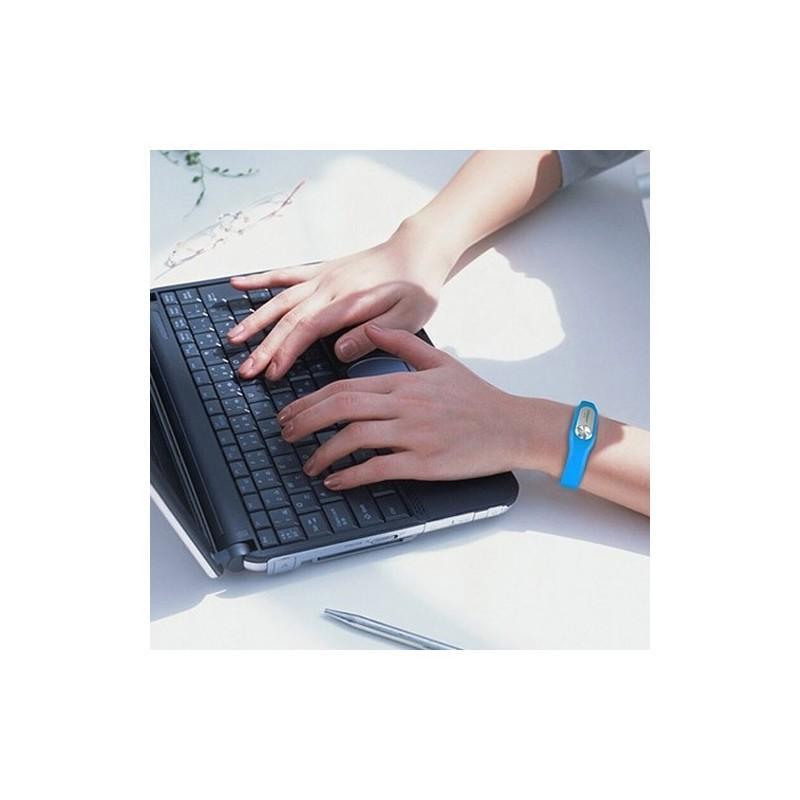 Цифровой диктофон браслет WR-06 (8GB, 140 часов записи, 128Kbps, 21 г, 6 цветов на выбор) 187194