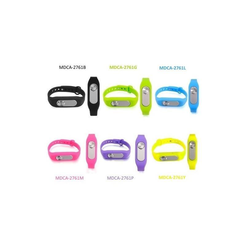 Цифровой диктофон браслет WR-06 (8GB, 140 часов записи, 128Kbps, 21 г, 6 цветов на выбор) 187196