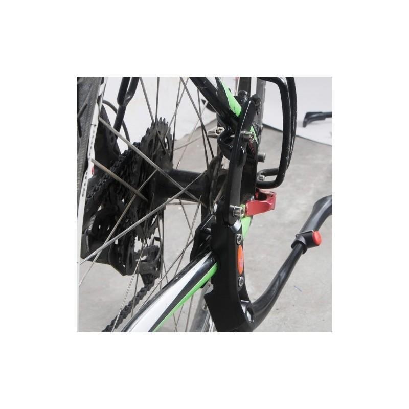Регулируемая откидная подставка OQSPORT из алюминия для парковки горного велосипеда 187208