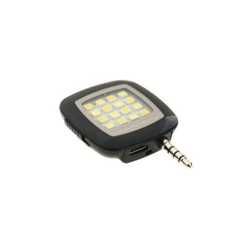 Универсальная внешняя светодиодная вспышка Flash In Night для телефона, планшета или цифровой камеры (Android, iOS, WP)