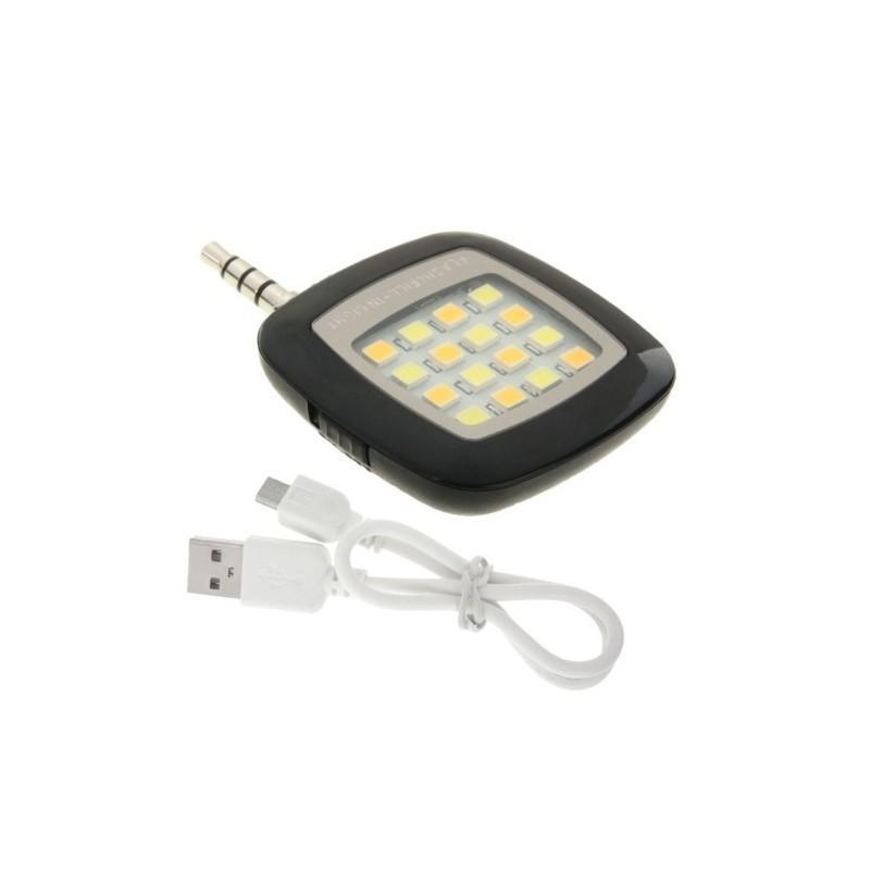 Универсальная внешняя светодиодная вспышка Flash In Night для телефона, планшета или цифровой камеры (Android, iOS, WP) 187221