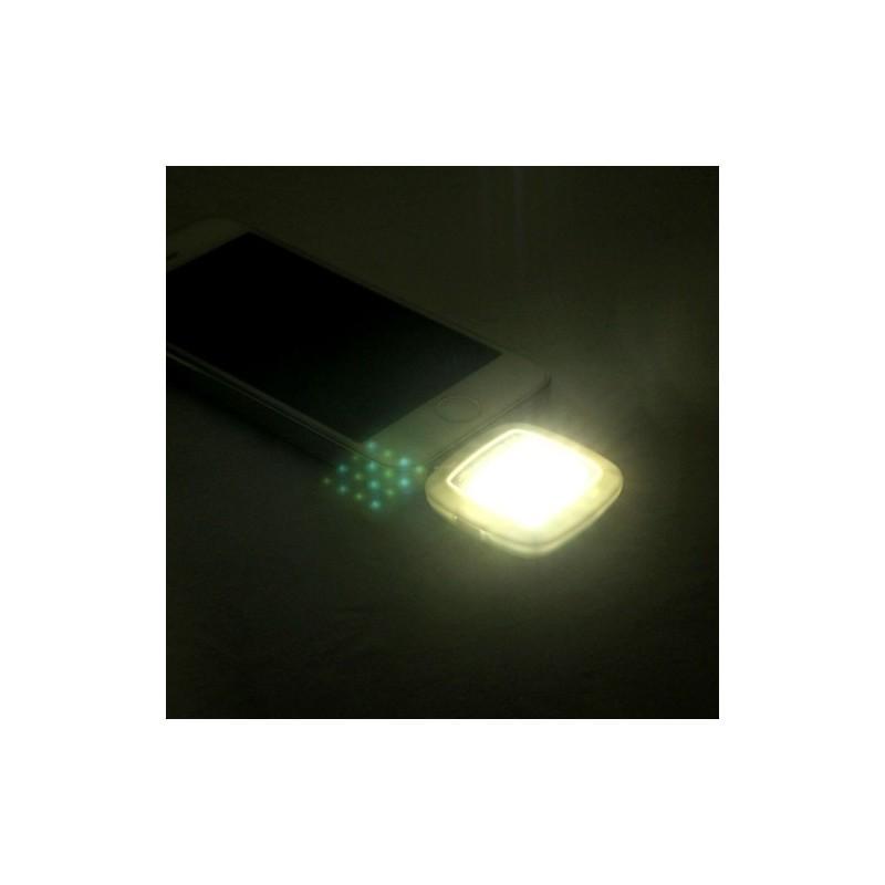 Универсальная внешняя светодиодная вспышка Flash In Night для телефона, планшета или цифровой камеры (Android, iOS, WP) 187223