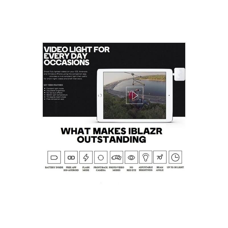 Универсальная внешняя светодиодная вспышка Flash In Night для телефона, планшета или цифровой камеры (Android, iOS, WP) 187226