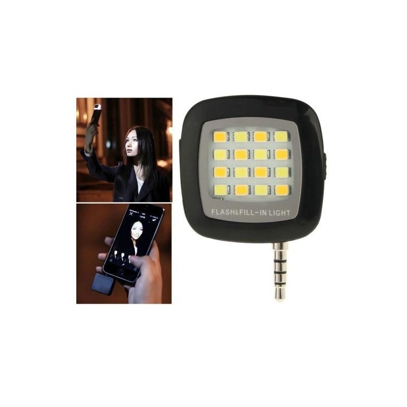 Универсальная внешняя светодиодная вспышка Flash In Night для телефона, планшета или цифровой камеры (Android, iOS, WP) 187233
