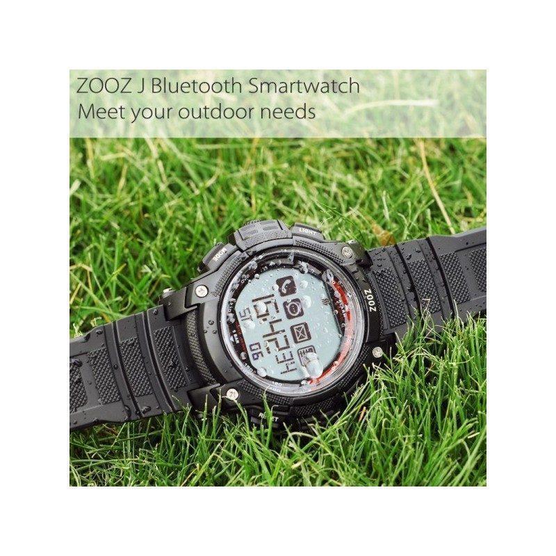 Умные часы (smart watch) ZOOZ J A407 – подключение к iOS и Android, водонепроницаемый корпус 5 атм