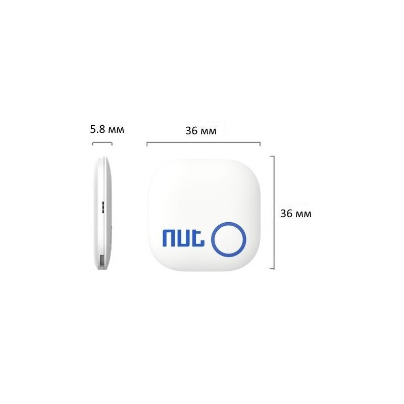 Брелок-сигнализация Nut Anti-Lost 2.0 для поиска ключей и других предметов (Android и iOS, Bluetooth 4.0) 187246