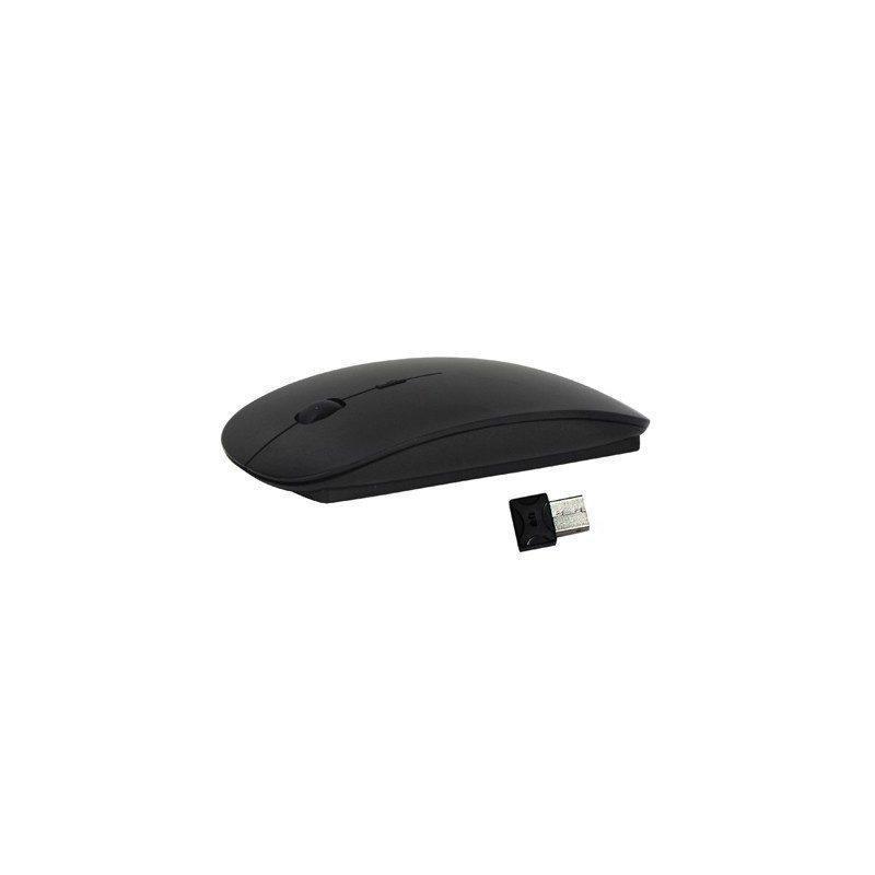 Беспроводная ультратонкая оптическая мышь Slim Opta с USB-приемником – 2,4 ГГц, дистанция до 10 м, поддержка Windows и Mac OS