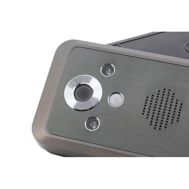 Беспроводной видеодомофон с детектором движения и ночным видением, монитор 3,5″,  камера 0.3 Мп с дверным звонком 187255