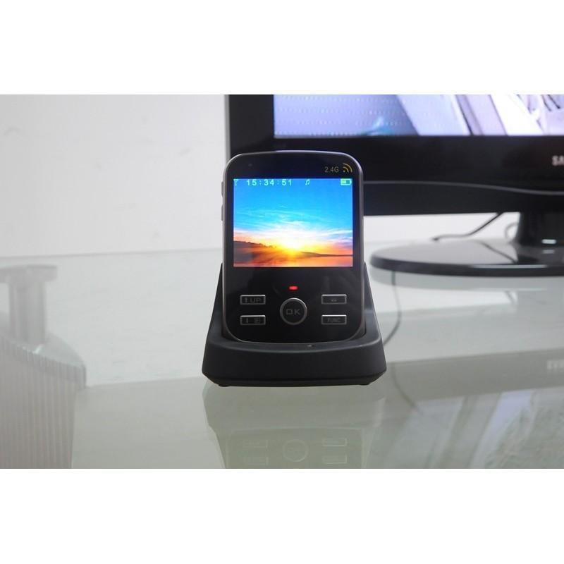 Беспроводной видеодомофон с детектором движения и ночным видением, монитор 3,5″,  камера 0.3 Мп с дверным звонком 187261