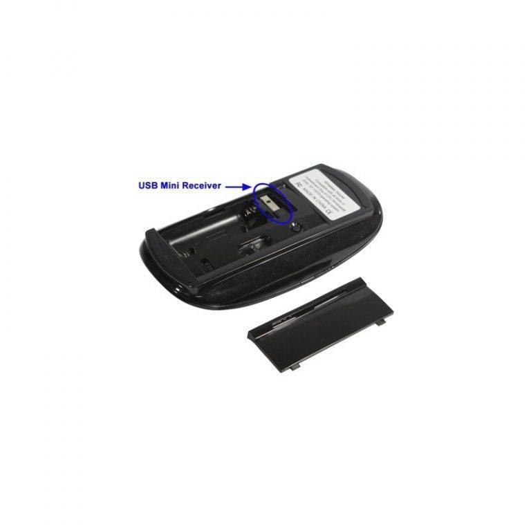 513 - Беспроводная ультратонкая оптическая мышь Slim Opta с USB-приемником – 2,4 ГГц, дистанция до 10 м, поддержка Windows и Mac OS