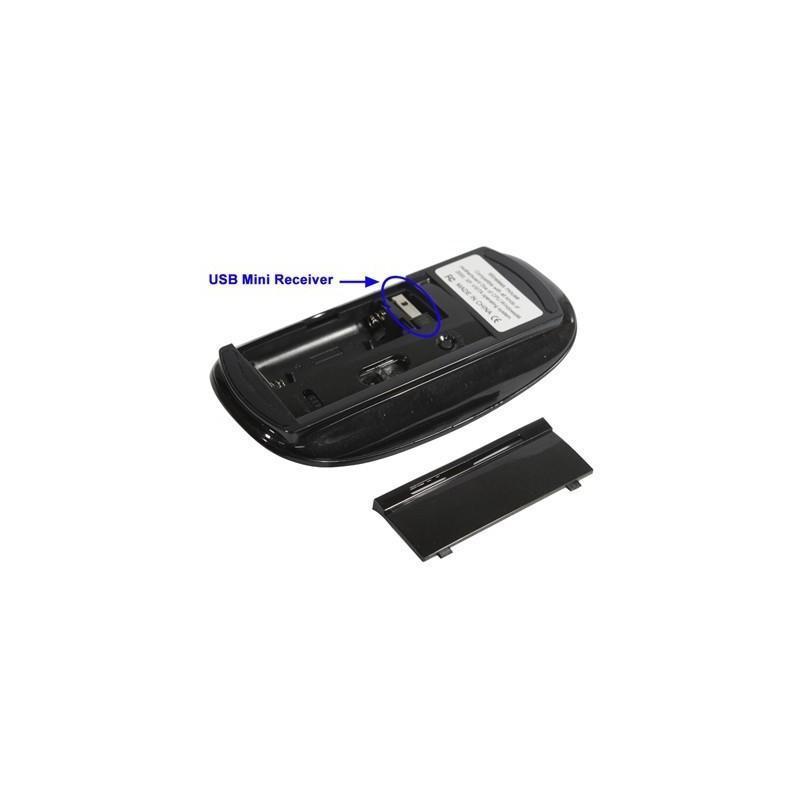 Беспроводная ультратонкая оптическая мышь Slim Opta с USB-приемником – 2,4 ГГц, дистанция до 10 м, поддержка Windows и Mac OS 183633