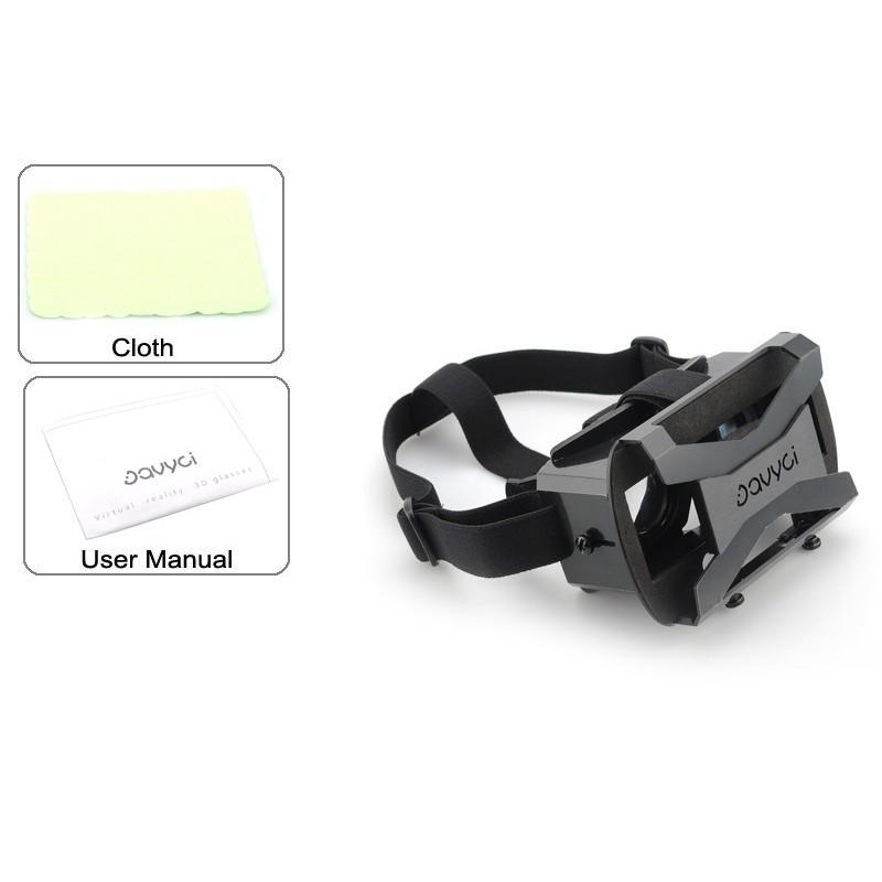 3D-очки виртуальной реальности для 4-6″ смартфонов с регулируемым фокусом и  межзрачковым расстоянием 187273
