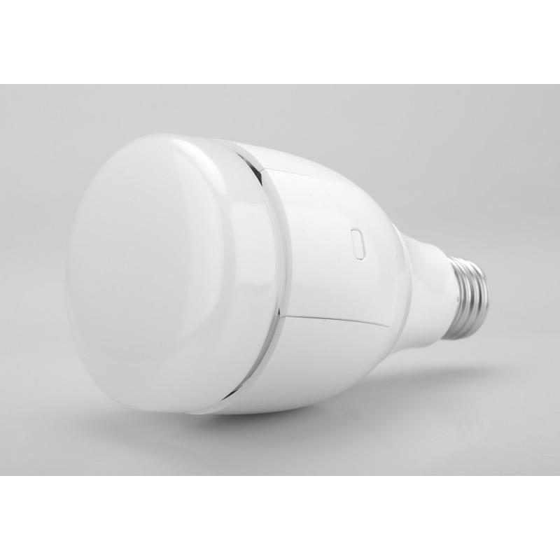 Умная светодиодная лампа Bubble Ball с регулировкой цвета и яркости (RGBW, WiFi, Cree LEDs, 2000-10000 К, 700 люмен, 12W, E27) 187290