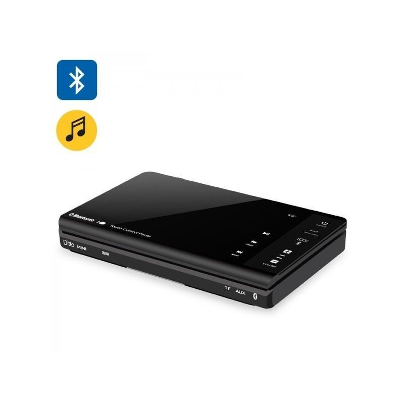Резонансный портативный вибро динамик Ditto с дистанционным управлением (Bluetooth v3.0, 8W, 70 Гц – 20 кГц, Micro SD, мини-USB) 187296