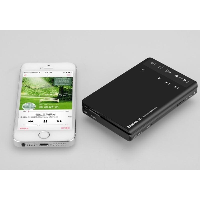Резонансный портативный вибро динамик Ditto с дистанционным управлением (Bluetooth v3.0, 8W, 70 Гц – 20 кГц, Micro SD, мини-USB) 187297